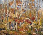 Autumn Tapestry: Tangled Trees