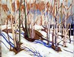 Early Spring, Canoe Lake 1917
