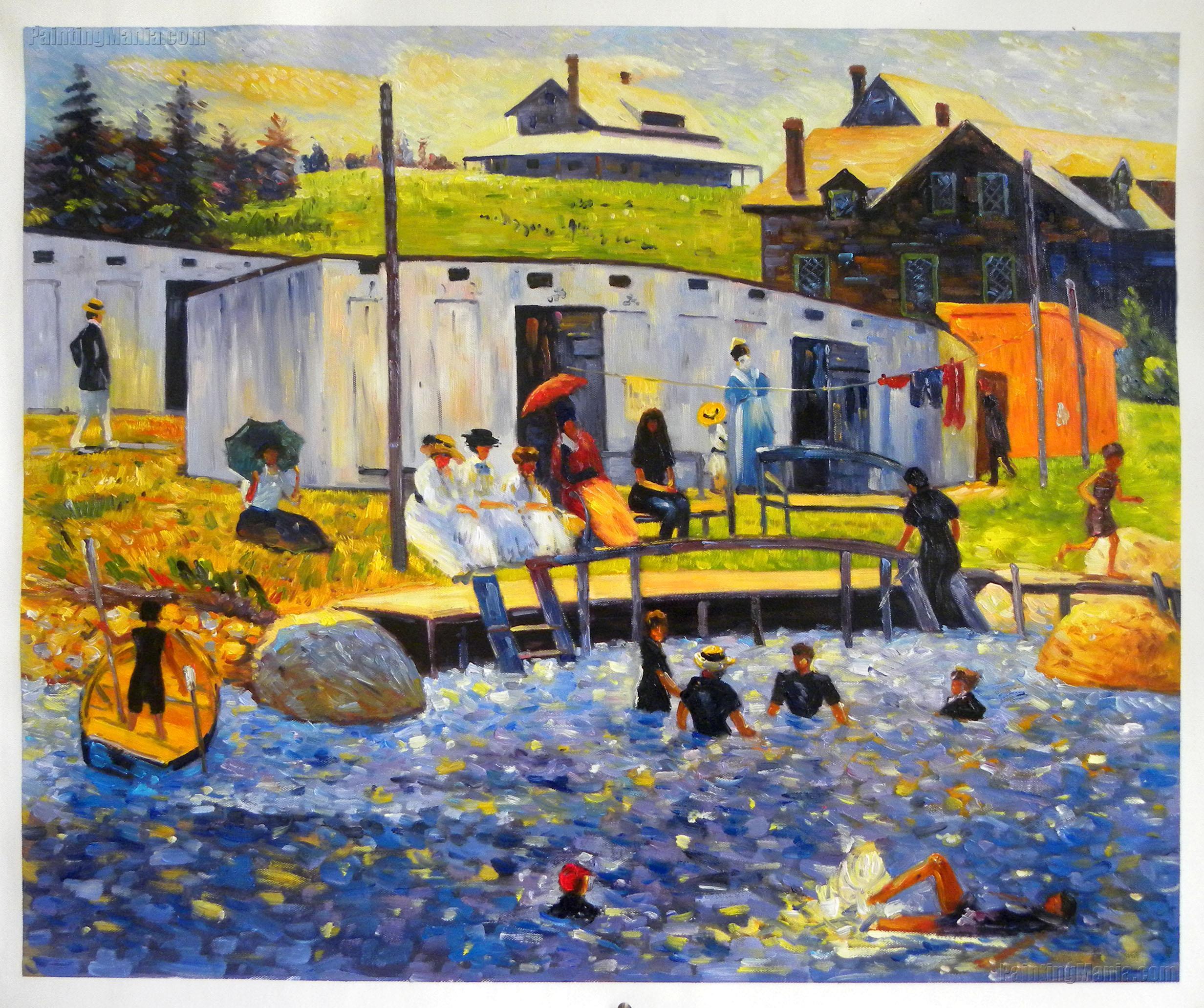 The Bathing Hour, Chester, Nova Scotia