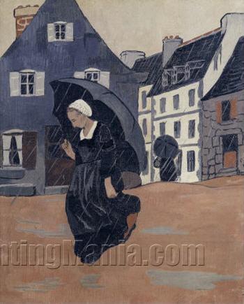 The Downpour (L'averse)