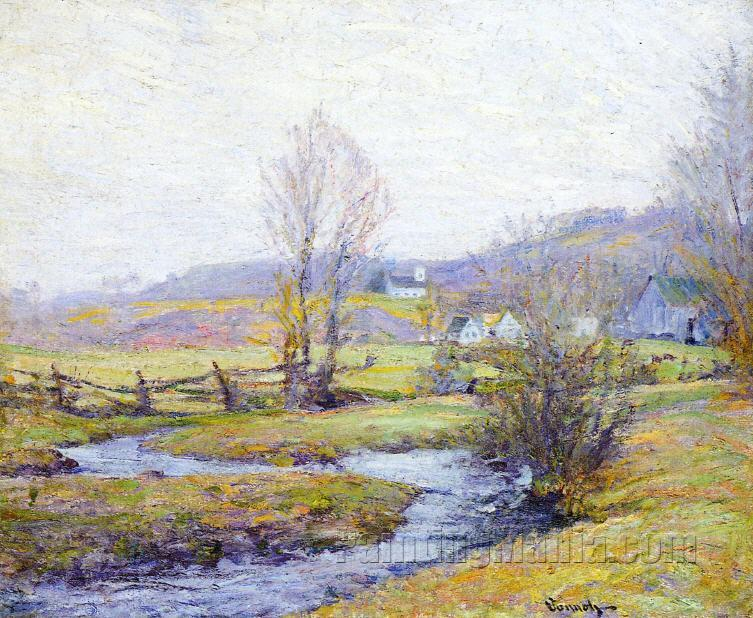 Early Spring, Pleasant Valley, Connecticut