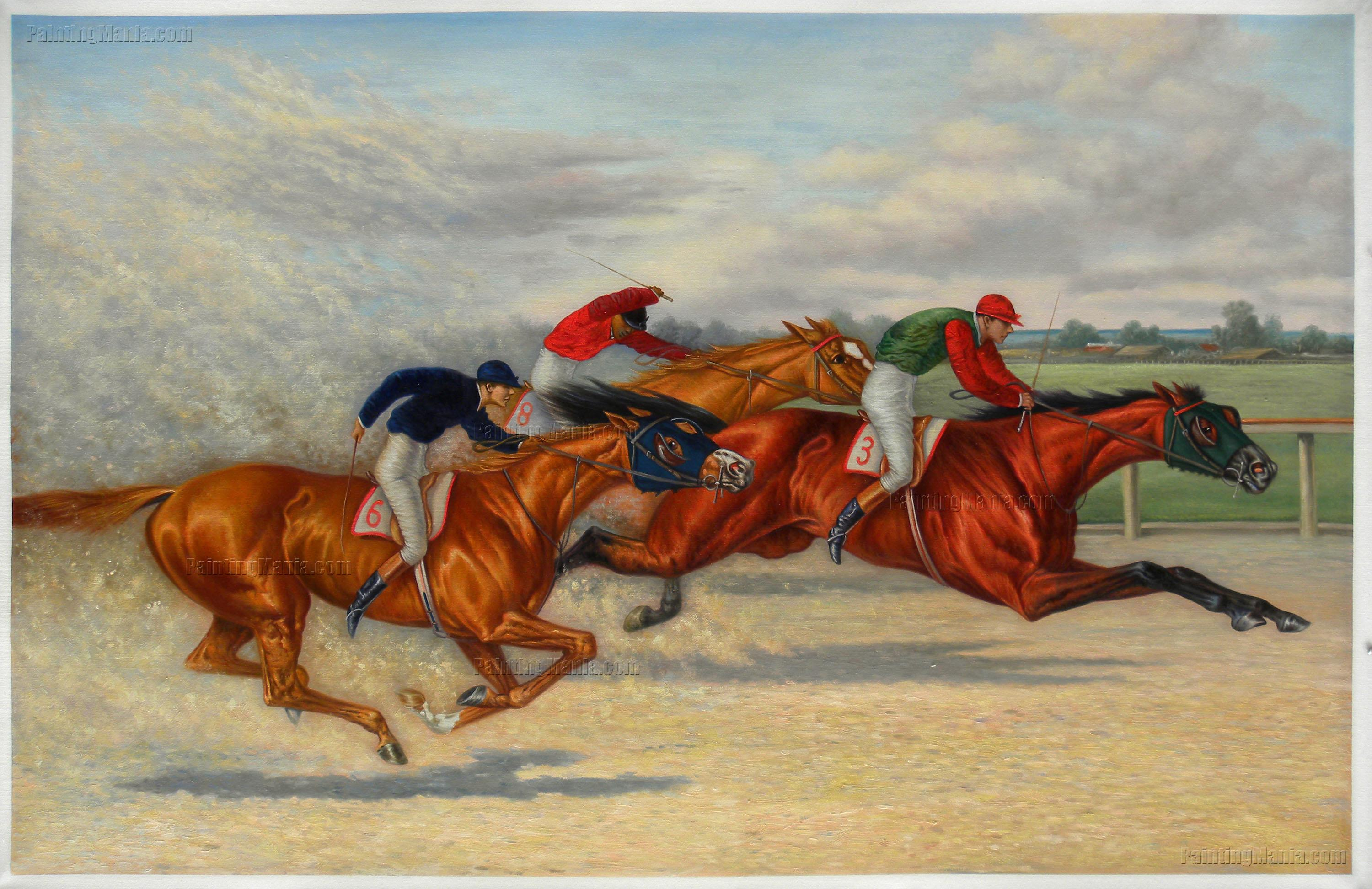 Great Eastern Handicap (Brooklyn Handicap) by Henry Stull