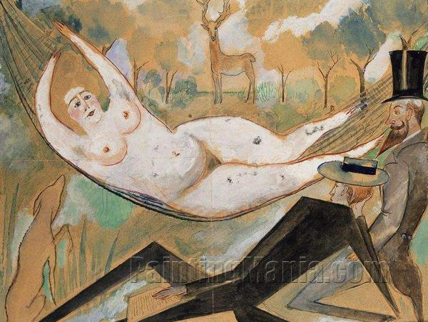 In the Hammock 1917