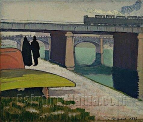 Iron Bridges at Asnieres