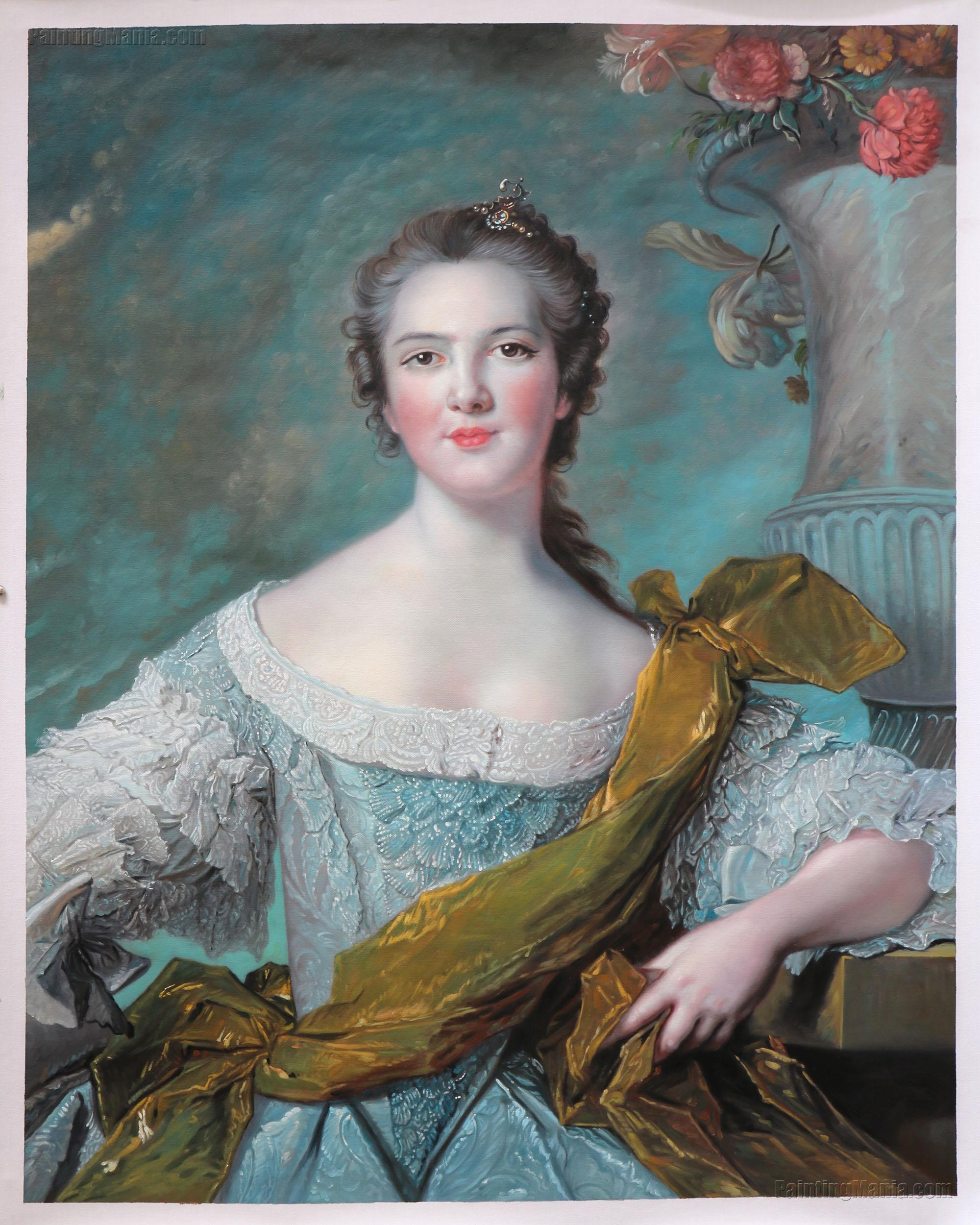 Madame Victoire of France by Jean-Marc Nattier