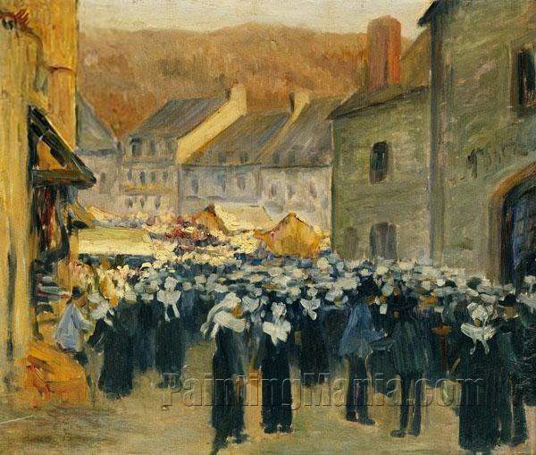 The Market at Pont-Aven