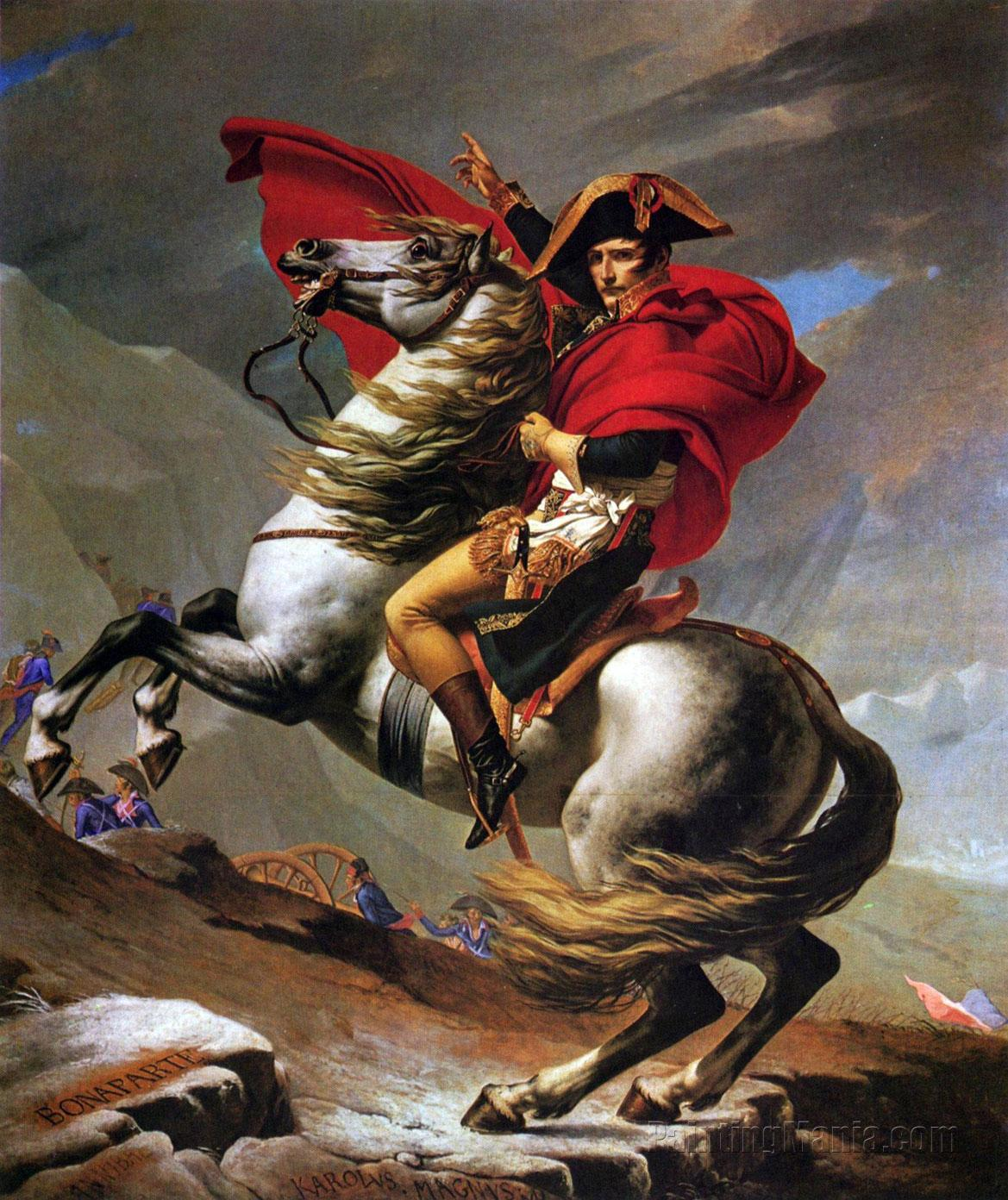 Napoleon Crossing the Alps 1802