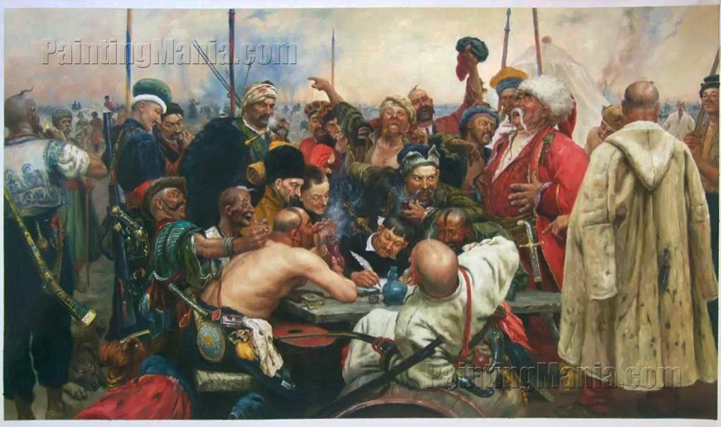 Reply of the Zaporozhian Cossacks to Sultan Mehmed IV of the Ottoman Empire