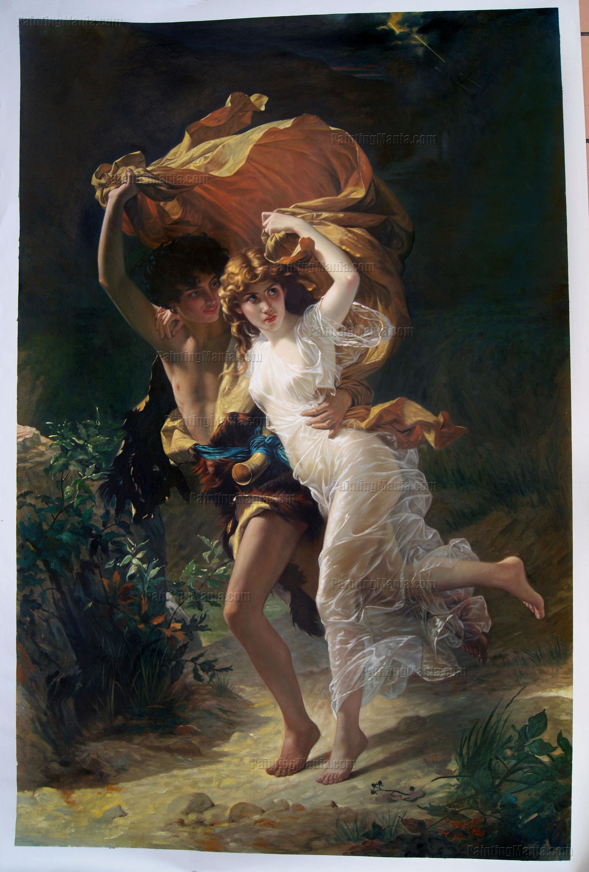 Pierre Auguste Cot Oil Painting