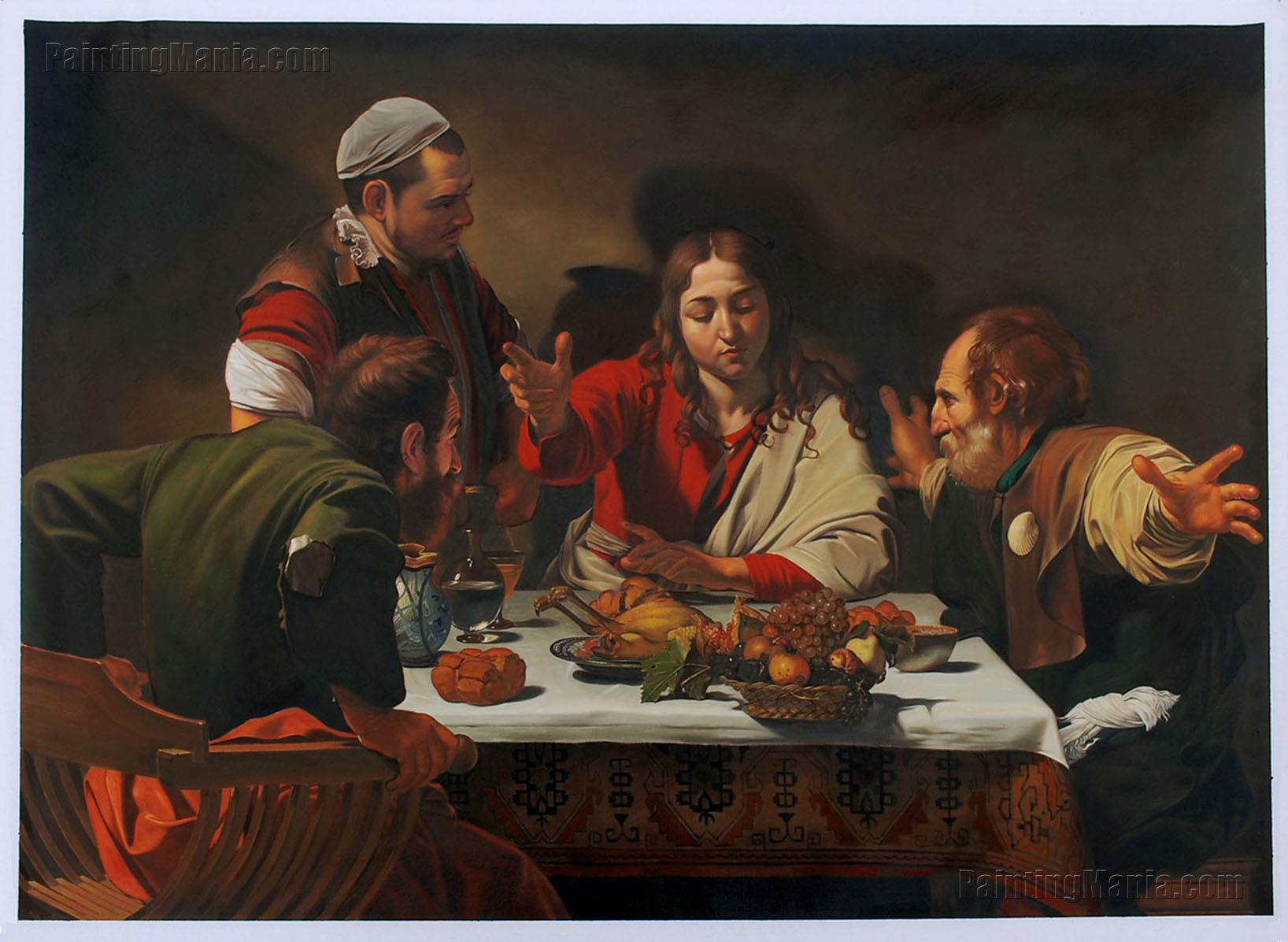 Supper at Emmaus (Cena in Emmaus)