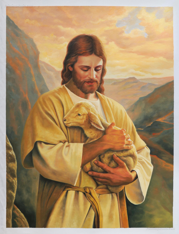 Jesus Christ with Lamb