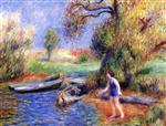 Bather in Blue