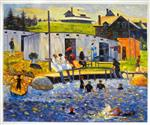 The Bathing Hour, Chester, Nova Scotia