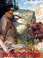 Bear Charging Man