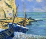 Boats at Etretat (Bateaux a Etretat)