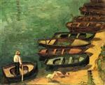 Boats at Pont-Aven