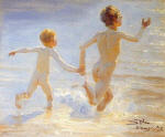 Boys on the Beach at Skagen