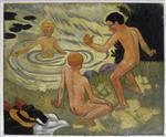 Boys on a River Bank (Enfants a la Barque)