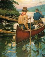 Canoe, Rowing, River