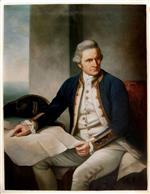 Captain James Cook by Sir Nathaniel Dance-Holland