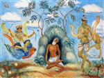 Decoration (Krishna and the Foolish Maidens)