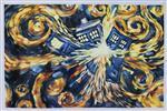 Doctor Who - Exploding Tardis (Blue Box Exploding)