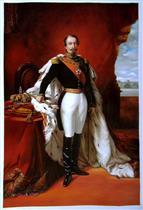 Emperor Napoleon III by Franz Xaver Winterhalter