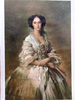 Empress Maria Alexandrovna by Franz Xaver Winterhalter