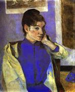 Femme a Saint-Briac 1886