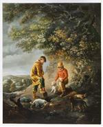 Ferreting at Windsor by Edmund Bristow