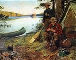 Fishermen at Camp