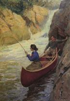 Fishing at the Rapids