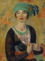 Girl in Green Turban