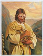 Jesus Christ with Lamb