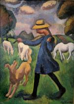 La bergere. Marie Ressort enfant