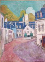 La Rue Rose A Pont-aven