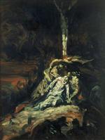 La Vierge au pied le la Croix