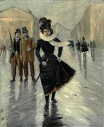 Lady in the Rain