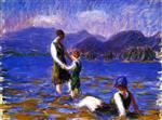 Lake Bathers