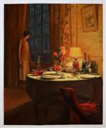 Lamp Light by Marcel Rieder