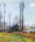 Moist Weather (France) - Robert Vonnoh Paintings