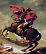 Napoleon Crossing the Alps (1802)