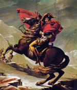 Napoleon Crossing the Alps (1802)