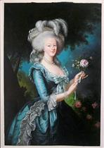 Portrait of Marie Antoinette, Queen of France
