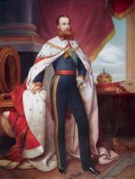 Portrait of Maximilian I of Mexico by Franz Xaver Winterhalter