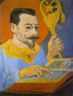 Portrait of Paul Ranson in Nabi Costume