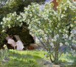 Roses (The Artist's Wife in the Garden at Skagen)