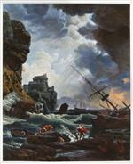 The Storm by Claude Joseph Vernet