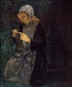 Young Breton (The Little Knitter)