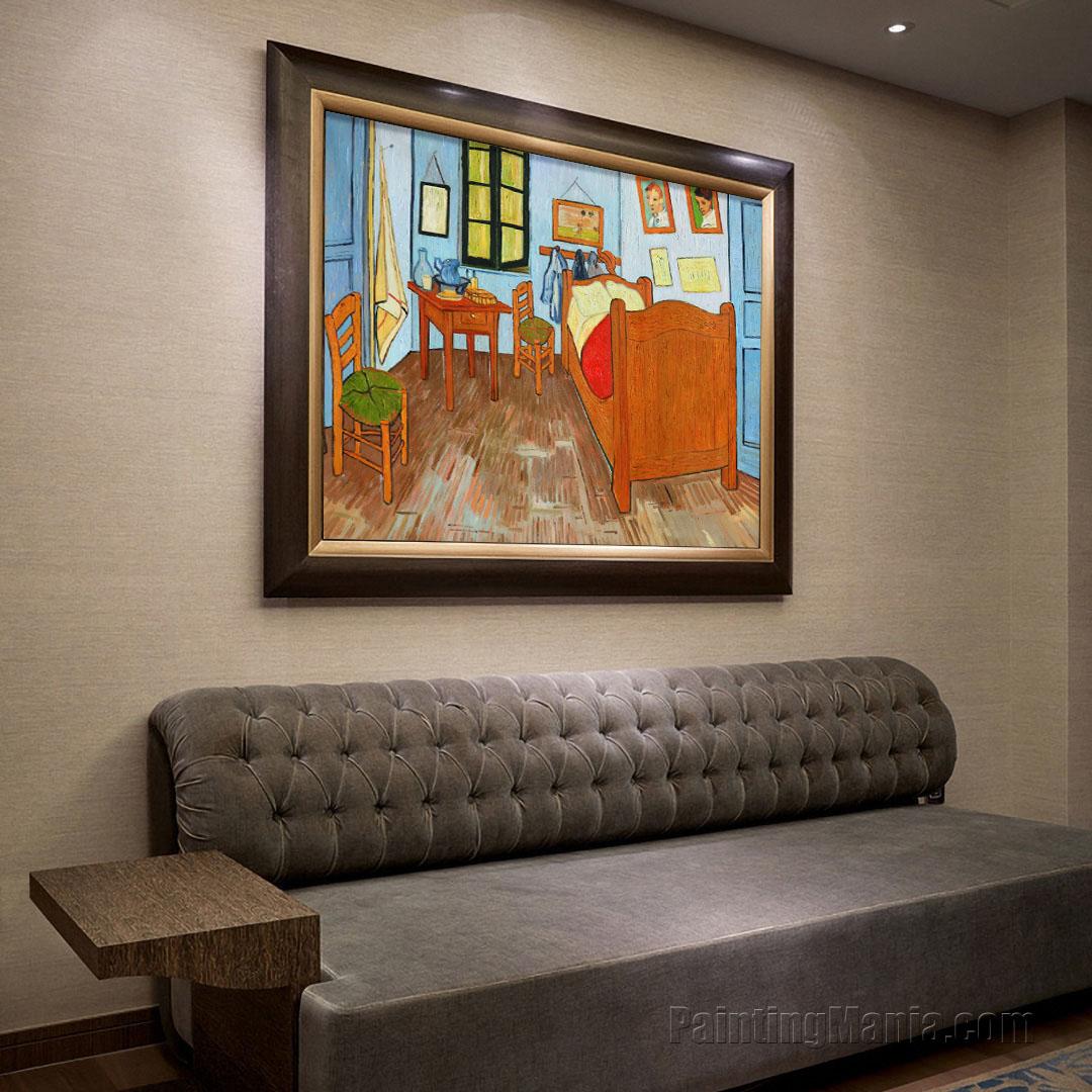 Vincent 39 s bedroom in arles vincent van gogh paintings for Bedroom in arles